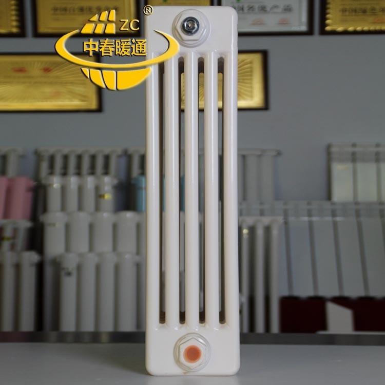 专业生产钢五柱暖气片 gz506散热器使用说明