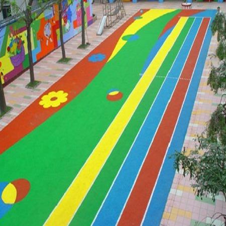 厂家承接幼儿园EPDM塑胶场地_幼儿园室外地面施工_幼儿园塑胶地面_国优体育