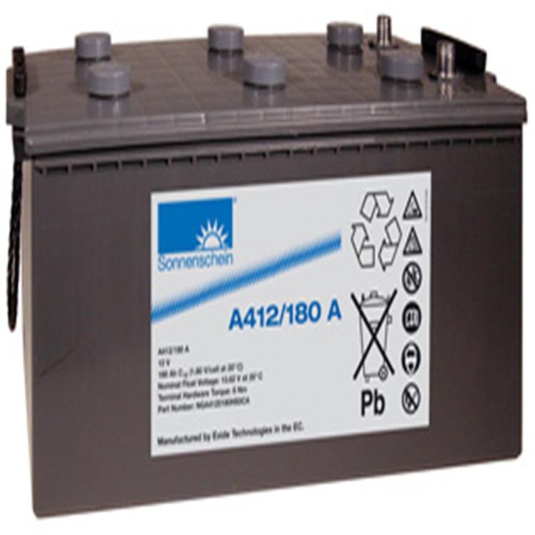 12V200AH胶体蓄电池进口品牌德国阳光蓄电池A412200F10免维护蓄电池