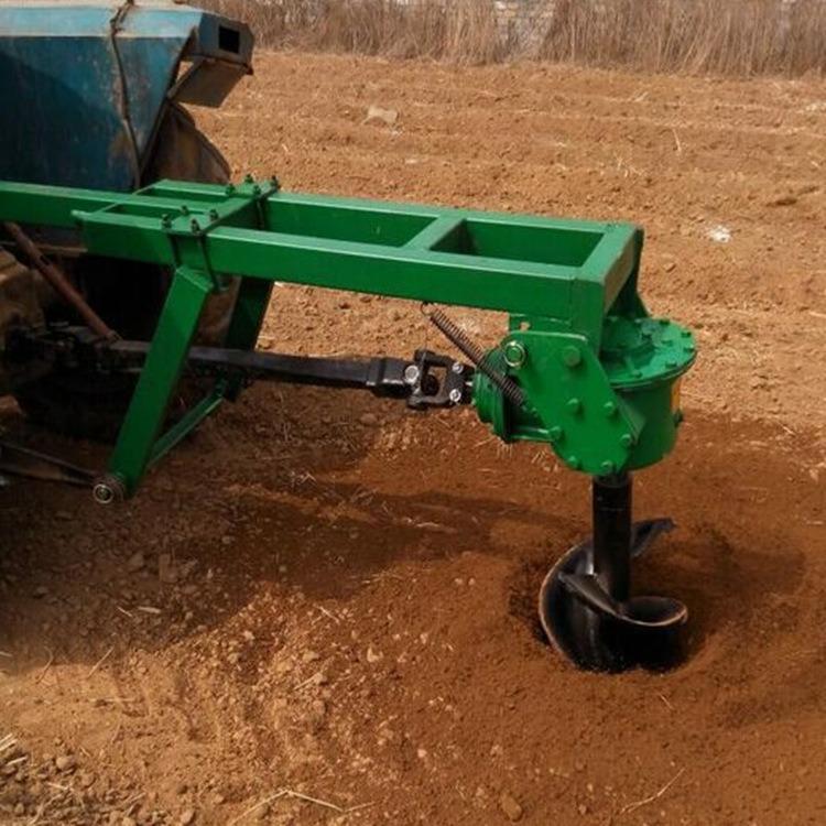 新型拖拉机挖坑机 植树挖坑园林苗木水田山坡种植挖洞机价格