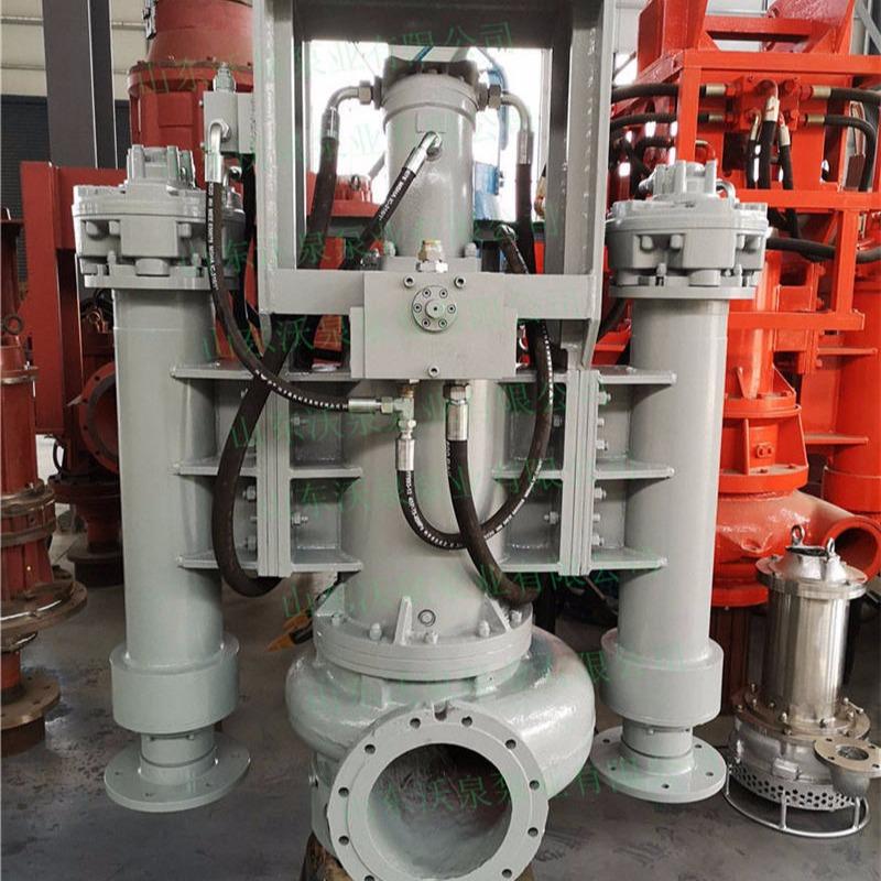 沃泉 WJY系列 挖机砂浆泵 耐磨清淤泵 挖机泥浆泵
