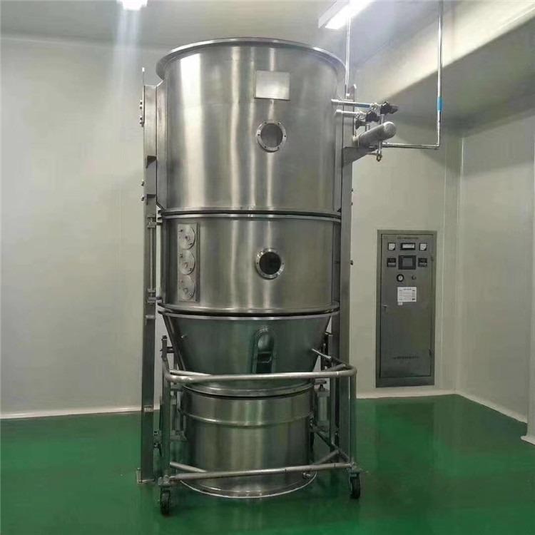 上海二手FL沸腾干燥制粒机价格 120沸腾干燥机 二手高效沸腾干燥机