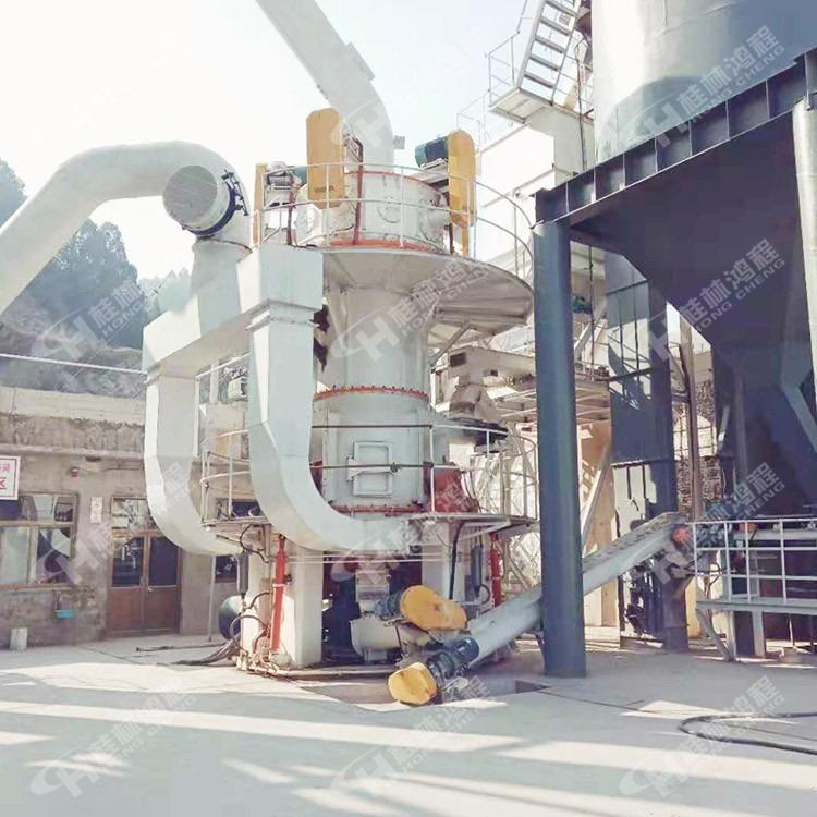 重质碳酸钙生产线工艺立式磨粉机超细矿粉立磨