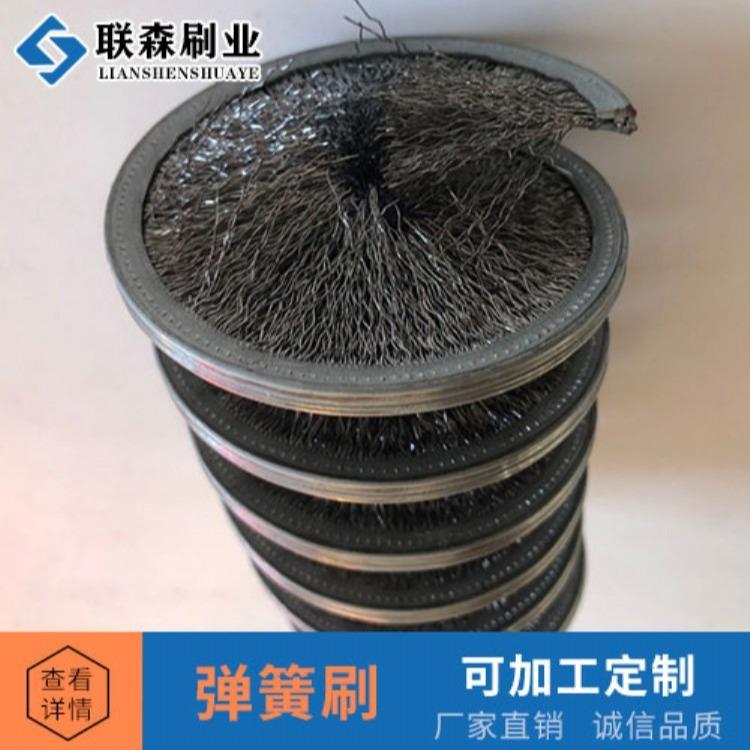 安徽合肥 清洗弹簧刷 磨料丝弹簧刷  工业尼龙弹簧刷 防静电弹簧刷毛刷