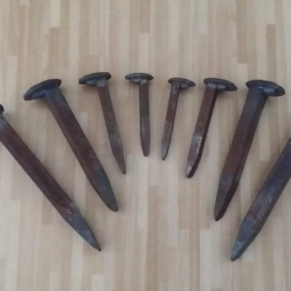 矿用铁路道钉厂家直销 矿用铁路道钉加工定制道钉 螺栓道钉,