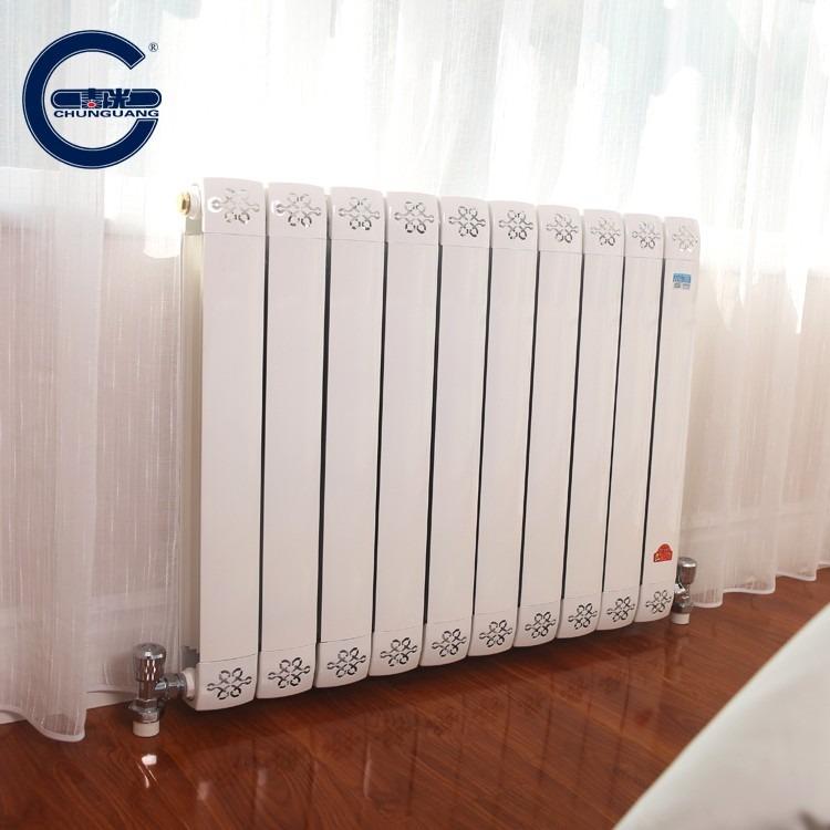 铜铝复合暖气片 铜铝散热器 80*80暖气片 家装暖气片 装饰性强