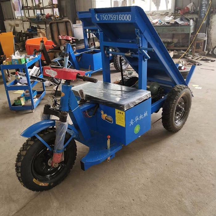 电动拉砖车厂家直销工地电动小型三轮车,自卸三轮拉砖车,电动拉砖车运输工具