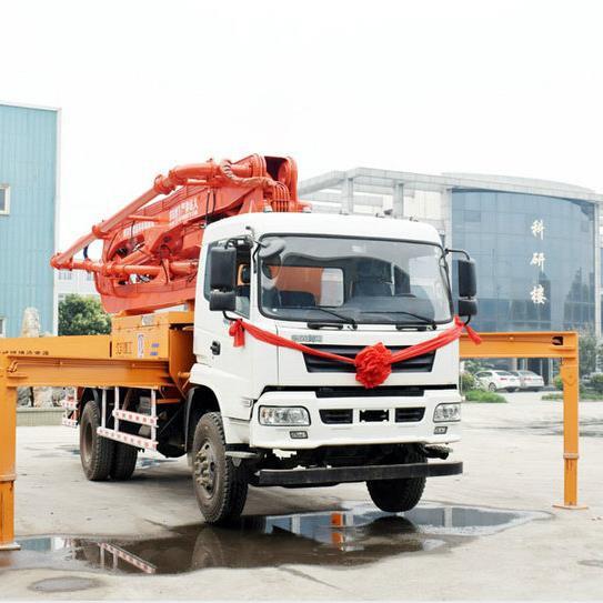 海重      小型泵车   混凝土输送泵型号    天泵