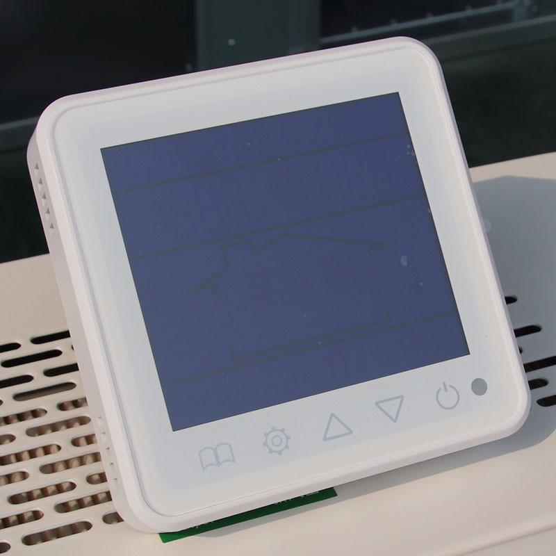 二管制风机盘管温控器 485温控器 智能温控器 液晶显示