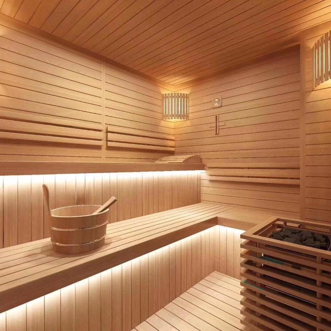 桑拿房设备 干蒸铁杉木桑拿房 免费安装上门设计