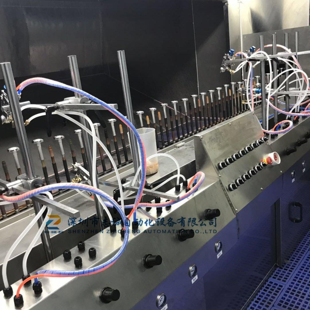 渐变色喷油设备 自动喷漆设备 uv喷油线-志诚机器人