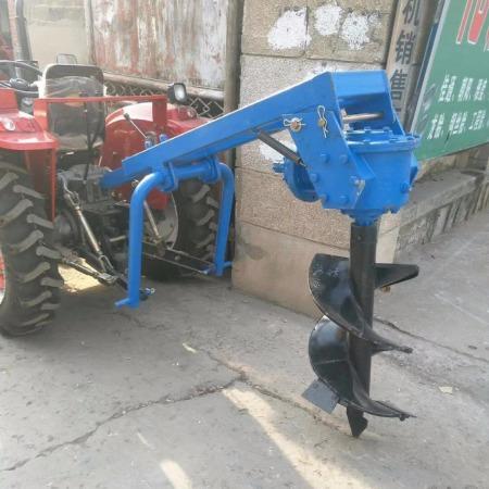 厂家直销多型号打坑机大型电线杆钻洞机 植树挖坑机 拖拉机四轮带动挖坑机钻眼机