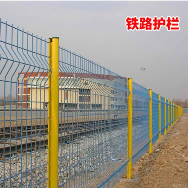 高速公路道路双边丝护栏网铁丝网隔离网围栏荷兰网钢丝防护网