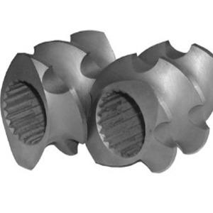 双螺杆螺套,螺套,双螺杆挤出机螺纹块,双螺杆螺纹元件|南京科尔特