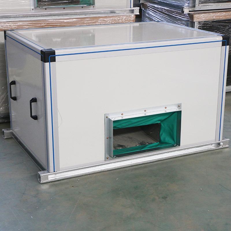 厂家定制无尘新风家用商用 全热交换器柜式风机箱 换气机通风抽风机组