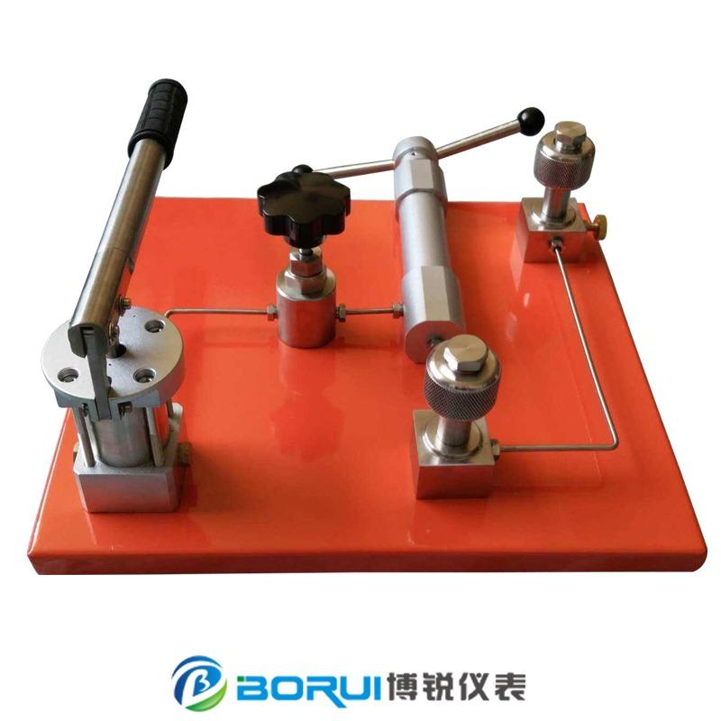 压力校验台 台式压力泵 手动液压压力泵 0~60MPa正负气压力源