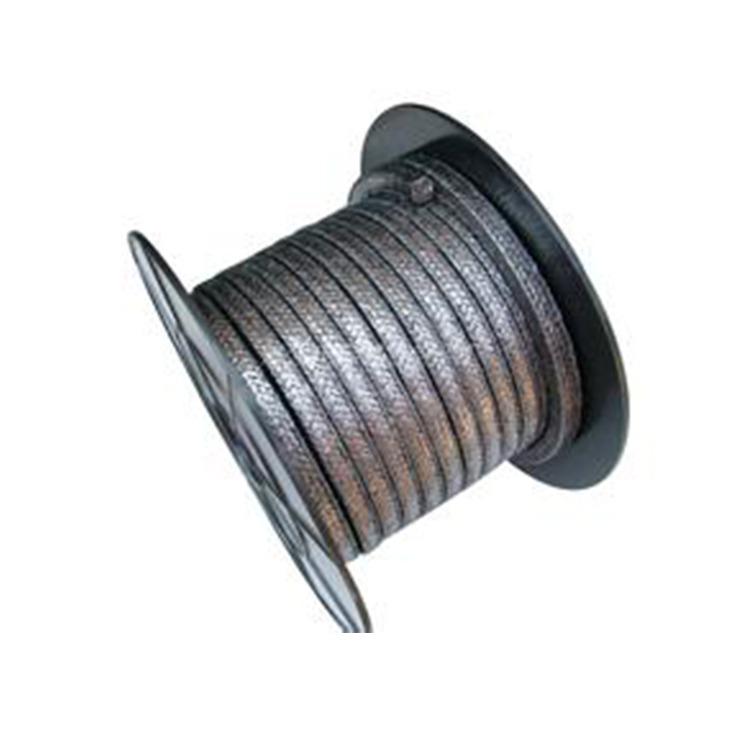 柔性石墨盘根 高温高压石墨盘根 碳素纤维盘根  金属丝增强石墨盘根