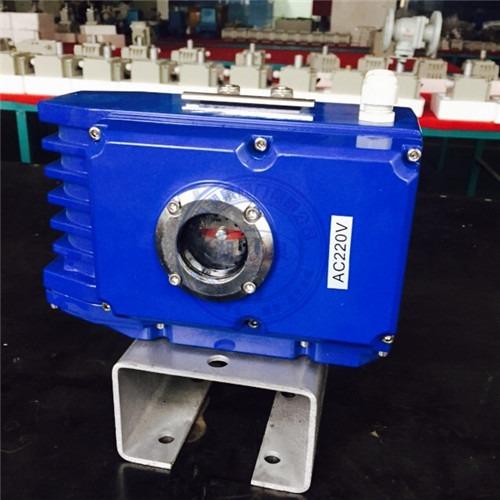 HQ精巧型100型阀门电装  电压AC220V 反馈有源信号 开关型执行器