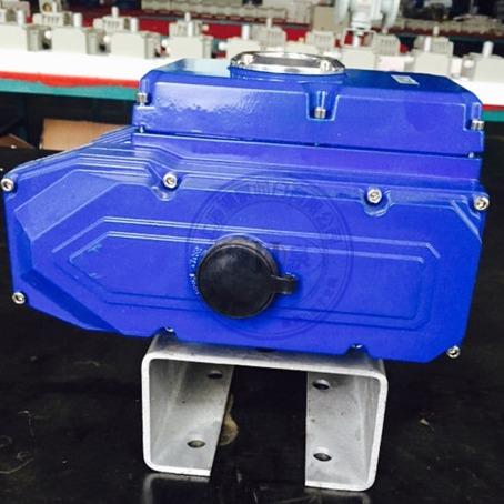 HQ精巧型200型阀门电装  电压AC220V 反馈有源信号 开关型执行器