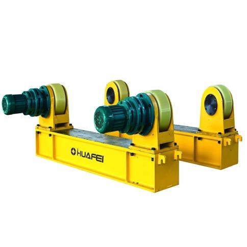 推荐山东济南数控机械厂家可调式滚轮架  自调式焊接滚轮架 自动焊接设备