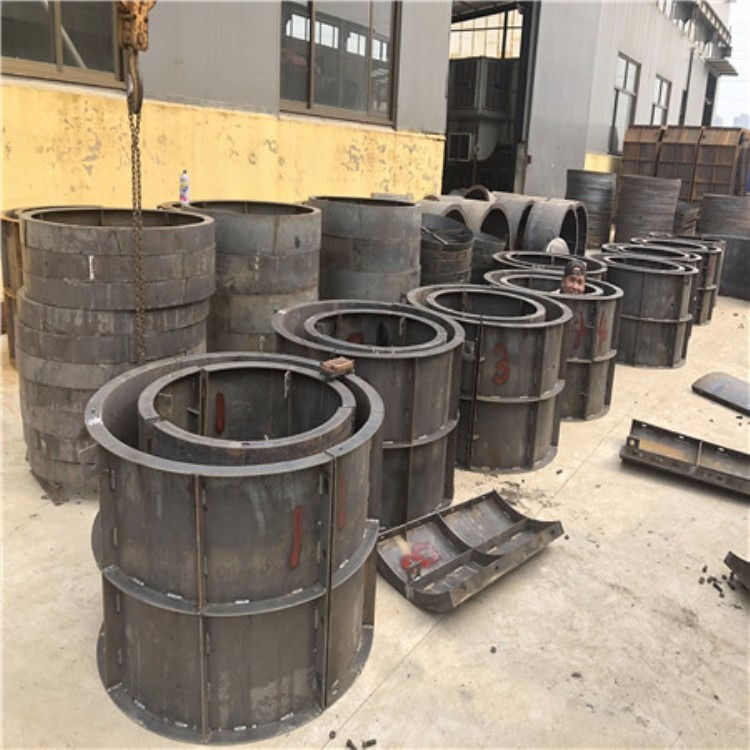 水泥检查井模具 水泥检查井钢模具 圆形水泥检查井模具厂家