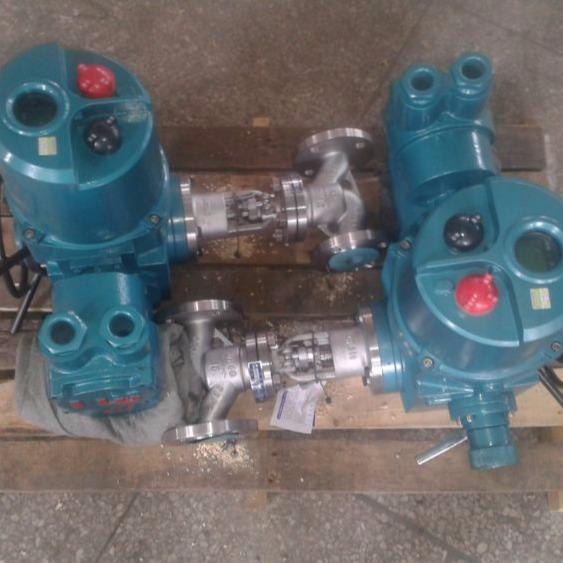 MAJ941H-16C DN50 65 80矿用隔爆型电动截止阀 带煤安证防爆证