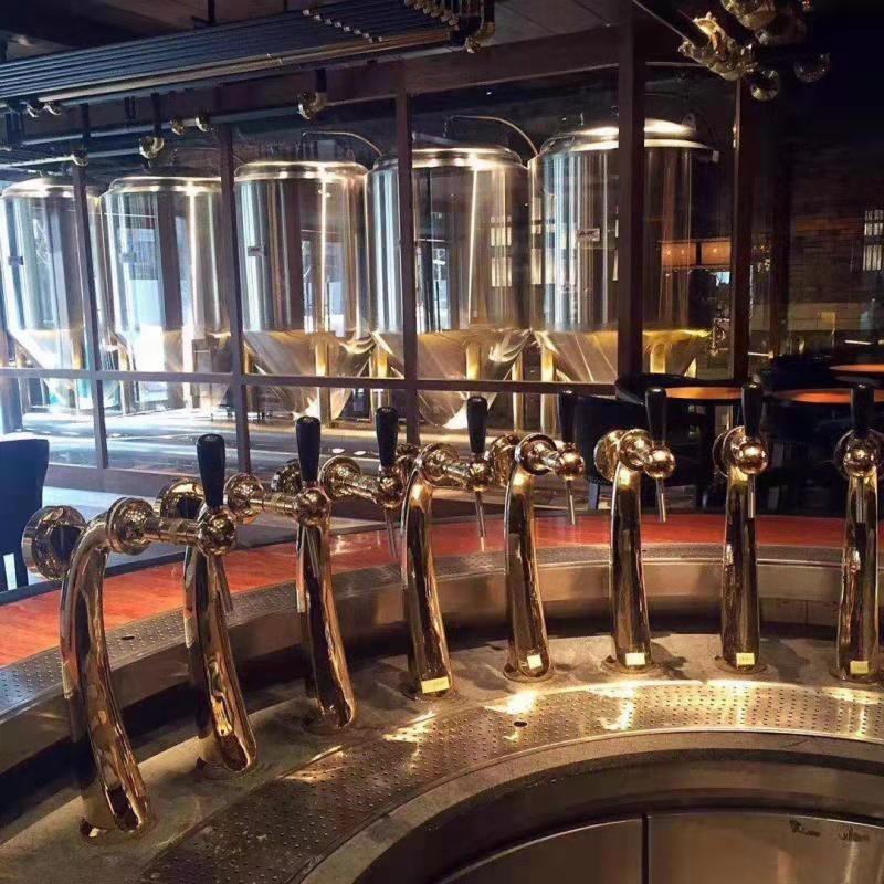 河北自酿啤酒设备哪家好 自酿啤酒设备价格 自酿啤酒设备厂家 引进德国工艺 提供设备培训 主体保修10年以上