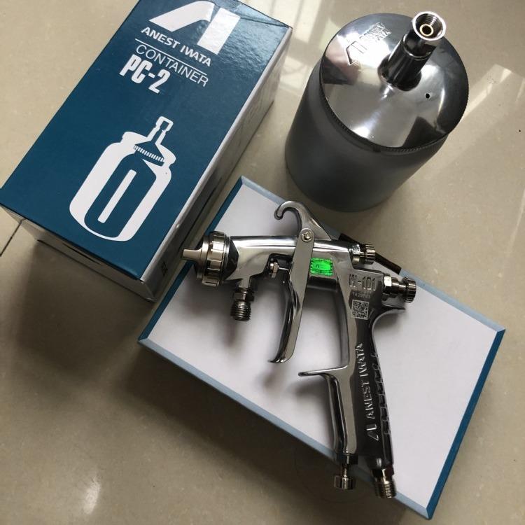 水性漆喷枪岩田w-101手动家具水性喷漆枪