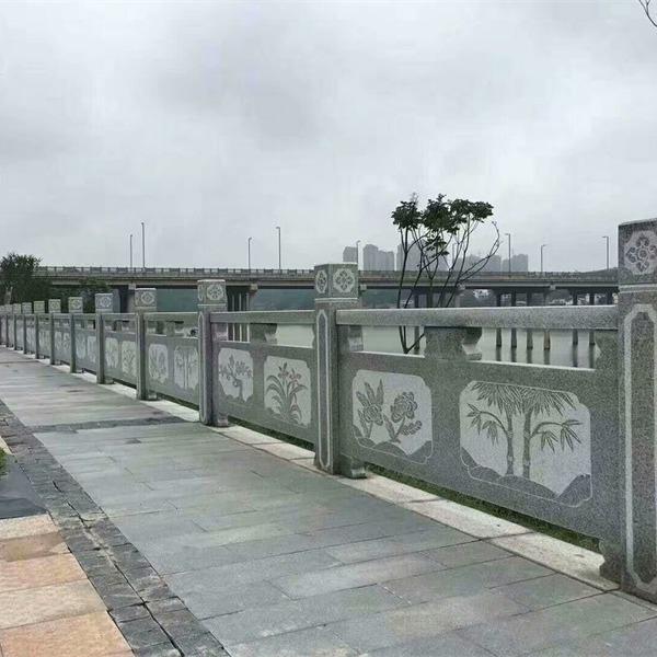 石雕厂家定制石栏杆厂家,汉白玉石栏杆,大桥汉白玉石栏杆,影视城汉白玉石栏杆古建汉白玉栏杆