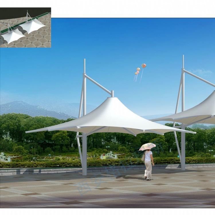 西安膜结构停车棚厂家 膜结构是什么 膜结构停车棚造价多少