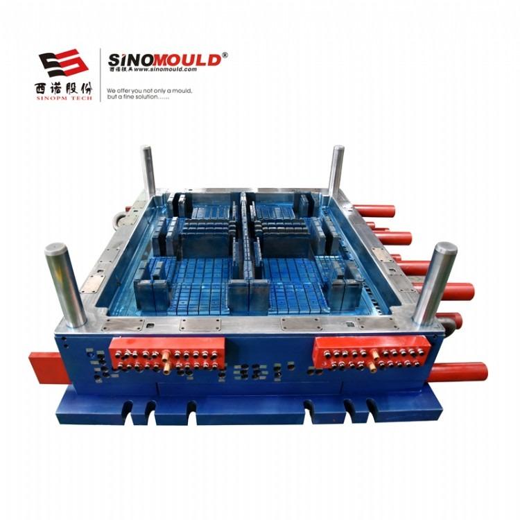 西诺塑料托盘模具制造 卡板箱模具 单层双层塑料托盘生产 多规格托盘模具生产 注塑模具