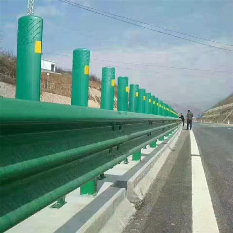 志祥波形护栏厂家 直销优质志祥4.0两波波形护栏4.0 Q235喷塑镀锌波形护栏价格