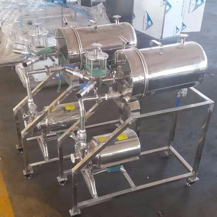 硅藻土过滤机葡萄酒过滤机硅藻泥过滤设备