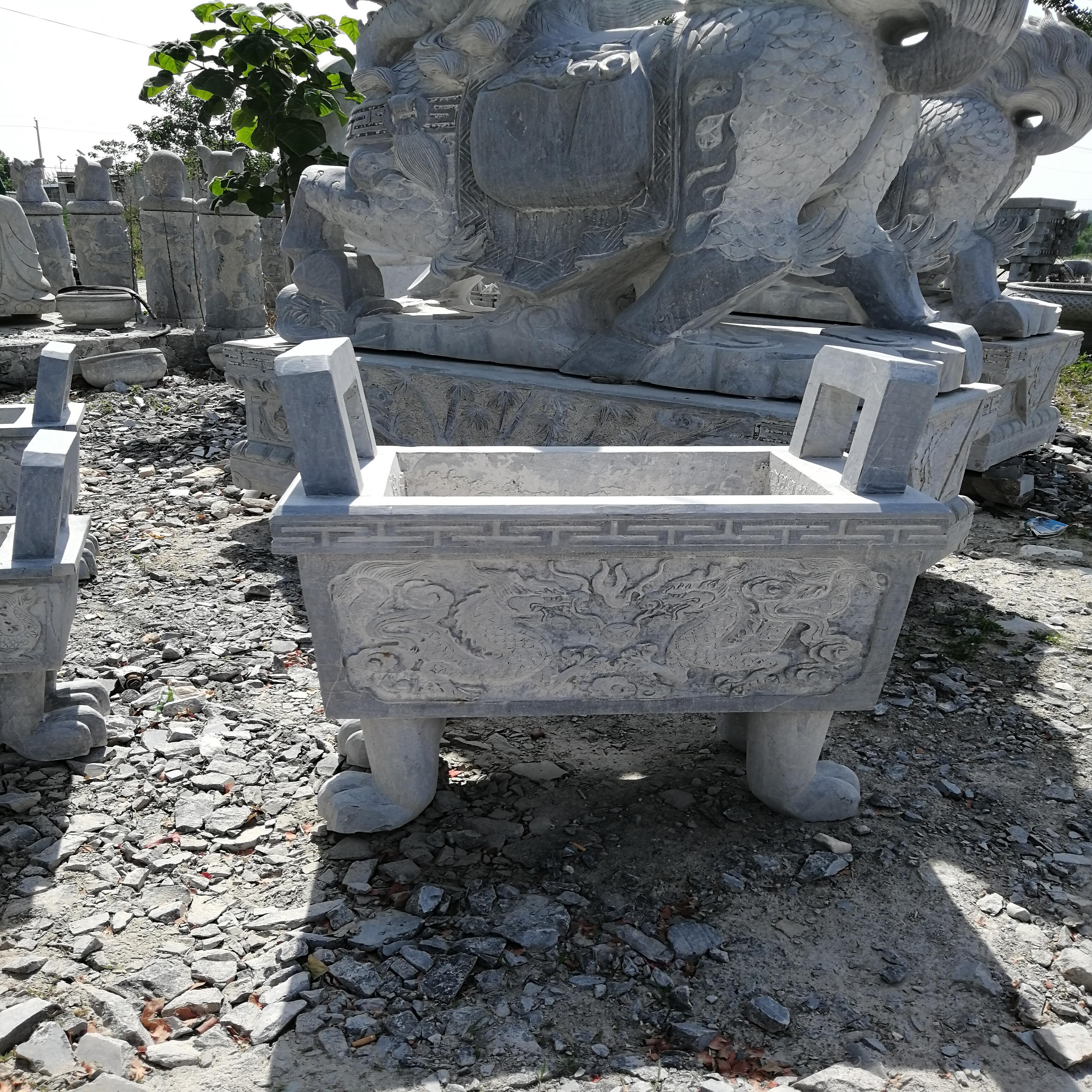 厂家出售石雕香炉产地货源可定制批发供应