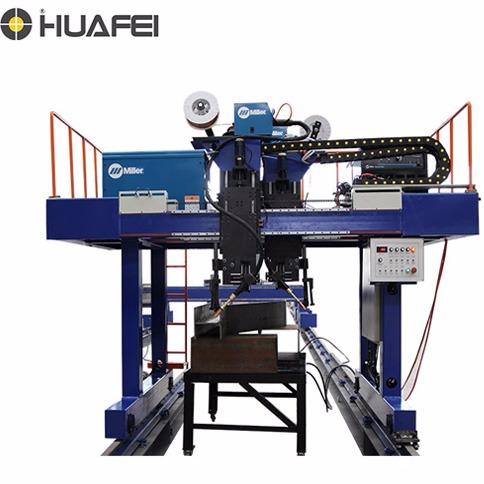 国内厂家直销变截面梁自动焊接 全自动焊接平台工作效率高  焊接设备