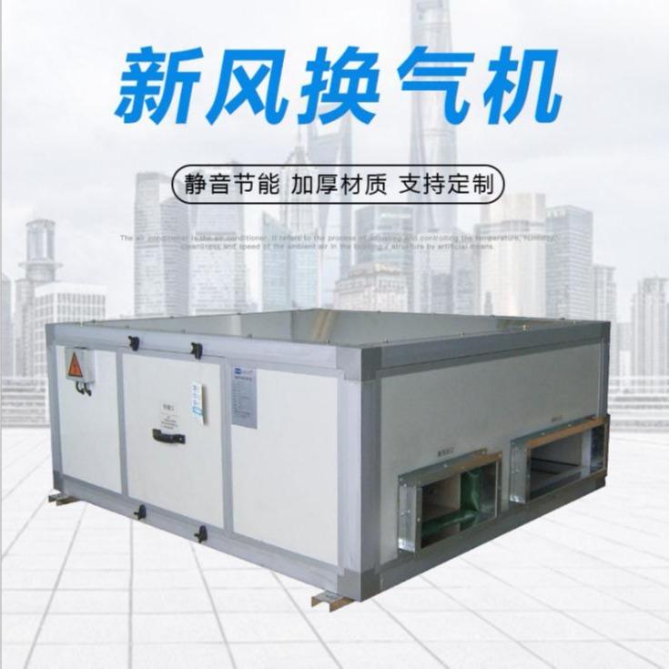 风机空调厂家直销 供应中央空调新风换气机 新风空调   环保空调