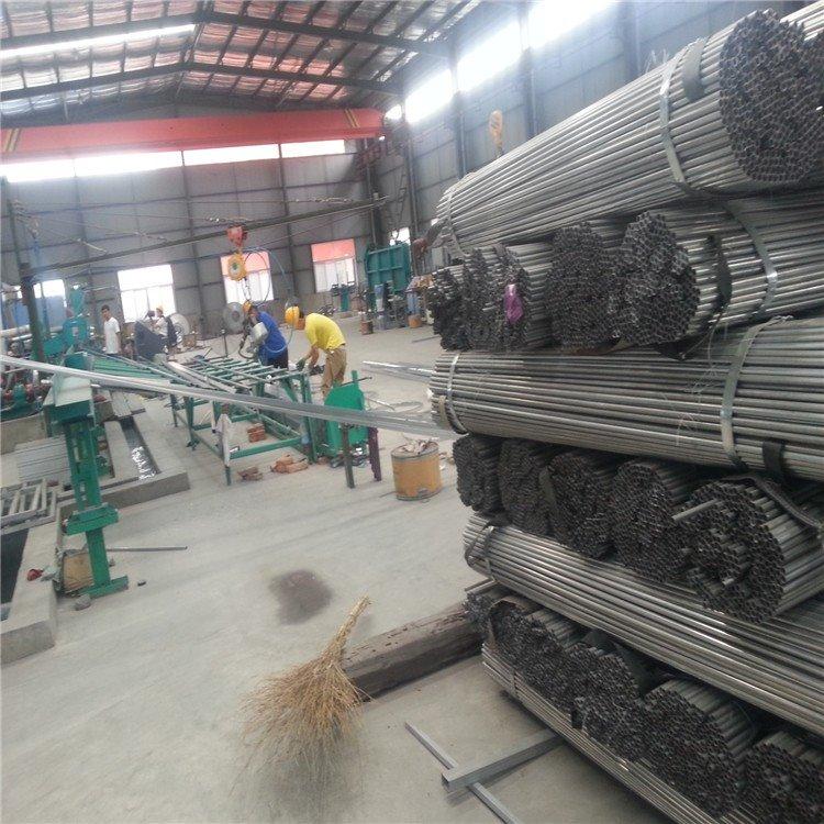 厚邦金属制品直销热镀锌大棚钢管、 温室大棚管、蔬菜大棚管、 大棚管、农用连体大棚管