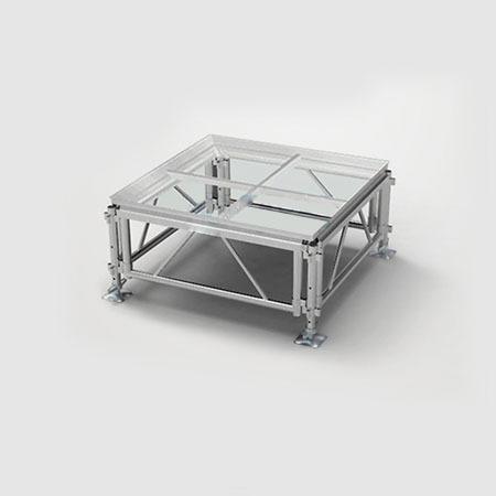 演播厅 T台走秀 专用玻璃舞台 铝合金舞台