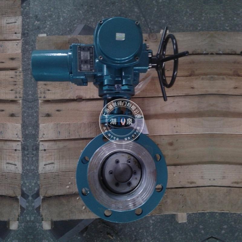 D943H-10电动调节蝶阀 煤气天然气用电动蝶阀 硬密封电动防爆蝶阀