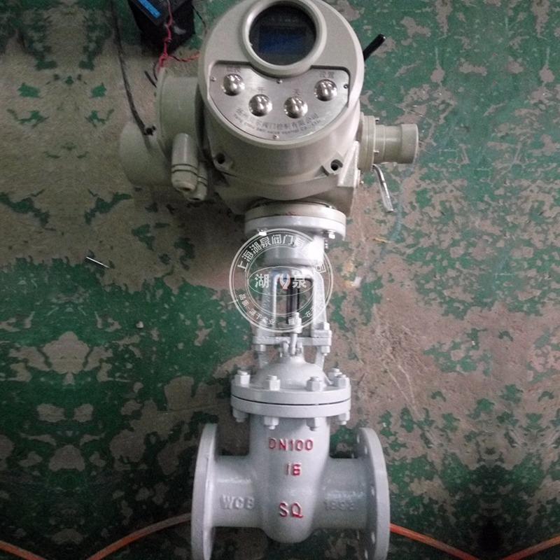 上海湖泉Z941H-16C铸钢电动闸阀 耐高温425℃电动闸阀 硬密封电动闸阀
