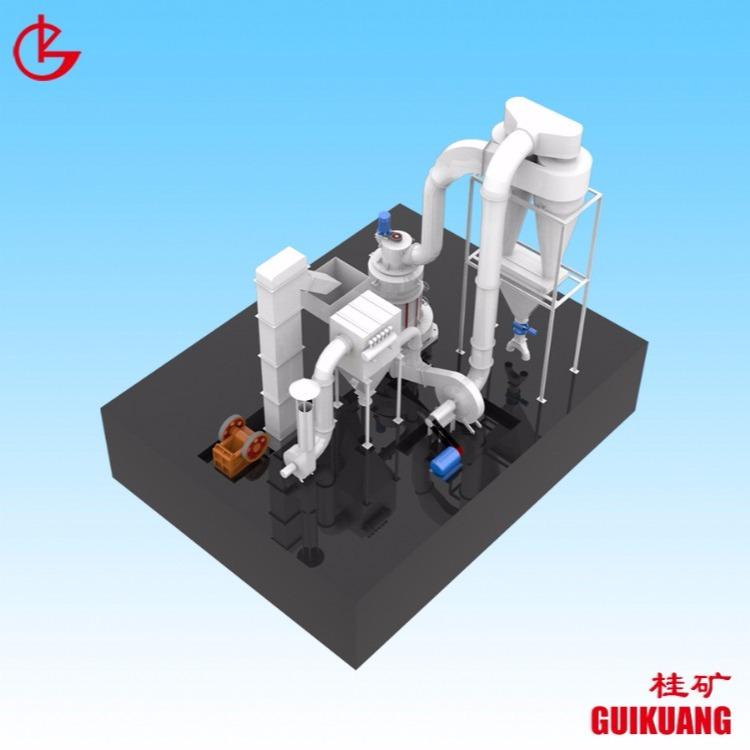 桂林矿机磨粉机微粉机磨粉机价格多少立磨 碳酸钙磨粉机 滑石研磨