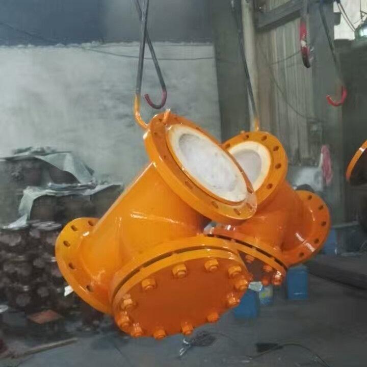 专业生产T型过滤器 衬氟T型过滤器 TGL41F46衬氟T型过滤器