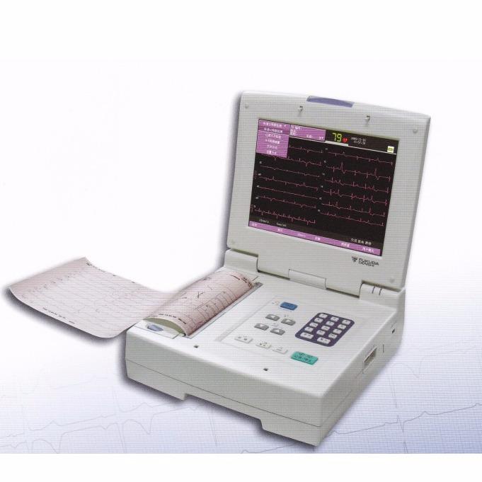心电图机 日本福田十二道自动分析心电图机 FX-7500