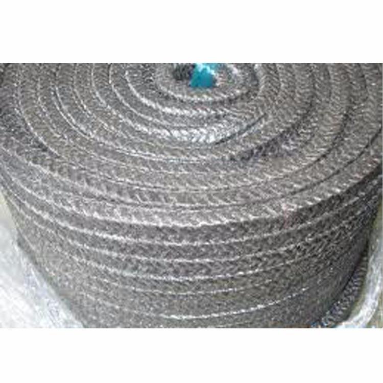 厂家直销 柔性石墨盘根, 金属丝增强石墨盘根  ,  高温高压石墨盘根