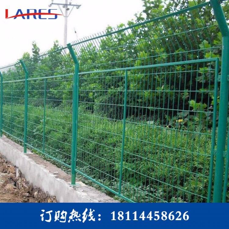 框架护栏网小区防攀爬隔离网双边丝护栏网高速公路隔离网铁丝网
