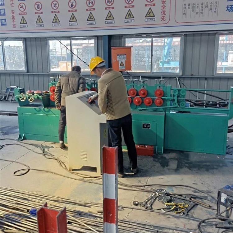 广东厂家专业生产多轮高速数控钢筋调直切断一体机