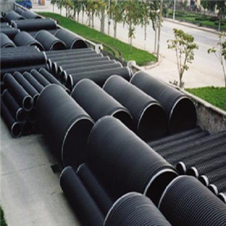 雄县保定钢带增强聚乙烯螺旋波纹管 pe钢带增强螺旋波纹管 规格齐全发货及时