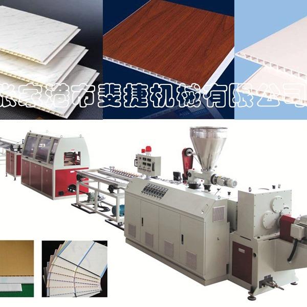 斐捷机械推出竹木纤维墙板设备