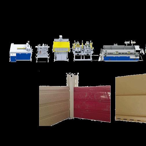 PVC挂壁板机器生产线厂家斐捷机械