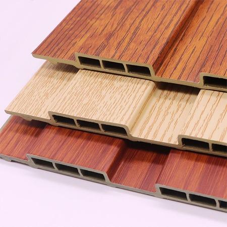 山东厂家供应生态木卡扣天花,生态木墙板,生态木墙裙板,生态木装饰板,生态木方通吊顶 现货